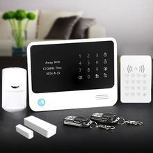 Smart and secure App control wifi wireless alarm system with standby GSM network and HD camera package for selection