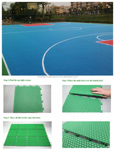 2015 plastic floor used for basketball court