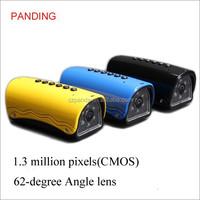Multi-functional sports DV 1.3 million pixels CMOS H.264 car mp3 player
