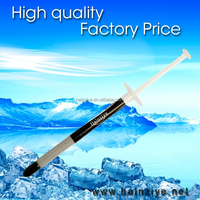 Insulation materials carbon-nano HY880-TU10A grey thermal grease for led/cpu/vga heat sink