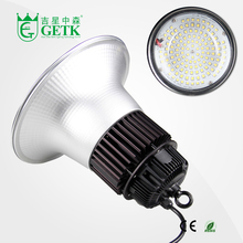LED Acrylic Prismatic High Bay Fixture LED High Bay fixture replacement of common Fluorescent and Metal Halide High Bay Lamps