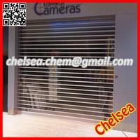 Interior/Exterior electric remote control transparent rolling shutter doors