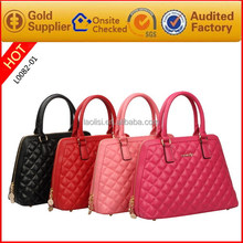 Alibaba china supplier fashion handbag leather bags women for lady