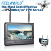 2015 updated version FPV LCD Monitor Channel Auto Searching wifi control drone with camera for inspire 1