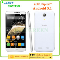 china wholesale ZOPO Speed 7 phone 5 inch phones Android 5.1 MTK6753 octa cores 3GB 16GB smartphone