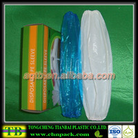 Clear sleeves for blow job,arm sleeves for chef,disposable protective sleeves