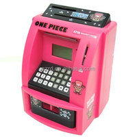 ABS Plastic ATM Piggy Bank Money Safe Box/High quality piggy bank money boxes