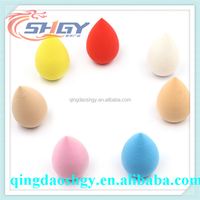 good quality cute beauty cosmetic powder puff sponge free sample