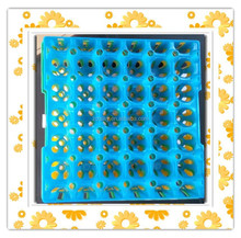 plastic transport 30-cell egg tray with egg crate