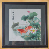 100% Silk Sichuan Embroidery art home decor