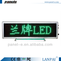 Newest design programmable scrolling message led advertising light board