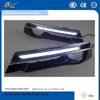Waterproof flexible led guide light Top quality Led fog light for Buick New Excelle 2013-2015 LED Daytime Running Light