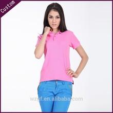 Slim Fit Sport Wear camisa de polo de las mujeres
