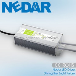 CE RoHS PF>0.95 EFF>80% led driver 80W constant voltage led power supply 12V 24V