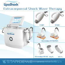 New products 2015 Technology Shock Wave Therapy Arm Leg Thigh Anti Cellulite Massager