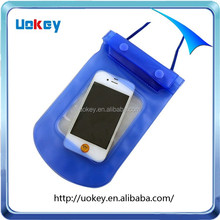 Outdoor neck hanging cell phone waterproof bag