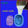 Two-component liquid silicone rubber for soap molds making