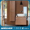 Hangzhou Wall Mounted Modern Design Melamine Bathroom Storage Vanity