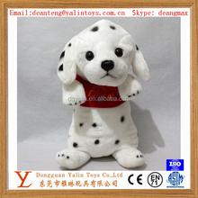 Best sale cute super plush stuffed toy spotted puppy lovely design for kids meet EN71&ASTM&3C ect standards