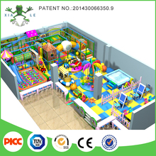 Small family fun centers indoor playground with hotel