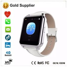 Bluetooth Smart Watch F2 Compatible For Android IOS WristWatch IP66 MTK2505 BT.4.0 Stainless Steel Heart Rate Fitness