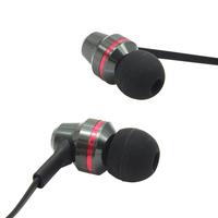 100PCS/LOT 2015 popular sport in-ear high definition stereo deep bass metal earphone