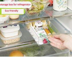 Useful Storage box for refregerator with drawer design