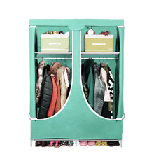 Sw de la moda no- tejido de antiguos baratos contratados plegable tela dormitorio armario ropero gabinetes de madera