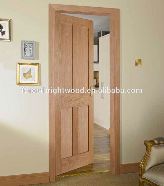 Mahogany Veneered 4 Panel Shaker Interior Doors Buy Interior Doors
