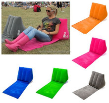 Popular design Wedge Back Support Cushion inflatable wedge travel pillow