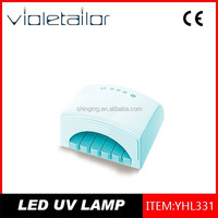 18W LED Nail Lamp With Contracted Modelling