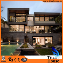 Quick Building and Easy Installation Modern Style Light Steel Frame Prefab Villa