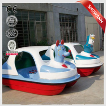 2012 New Design FRP pedal boat for 4 adults