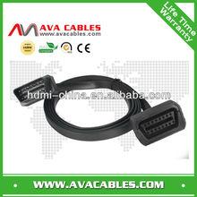 car diagnostic obd cable 16p extension obd cable