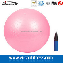 Cheap best sell soft inflatable eco pvc gym/yoga ball