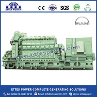 430kW to 1980kW HFO/crude oil/heavy fuel oil Generating Set