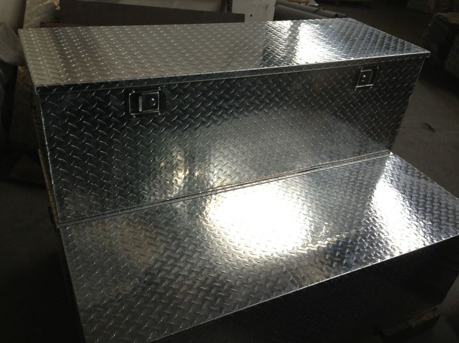 OEM aluminum tool box for trucks