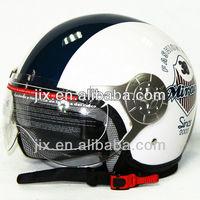 2015 DOT/ECE ABS Open Face Motorcycle Novelty helmet JX-B256