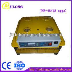 China Famous brand Janoel jn8-48 chicken egg incubator for sale