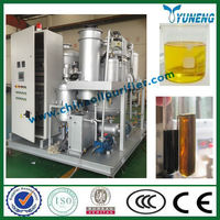 Waste mobile engine oil purification/oil reconditioning plant