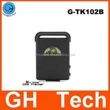 GH G-TK102B Mini Waterproof GPS Tracker built-in 3.7V 1000mAh Battey cheap mini gps tracker for children