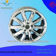 chrome effect powder paint for wheels