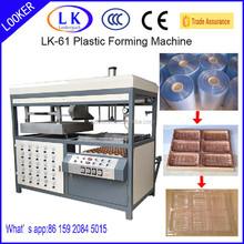APET,PETG,GAG, PS,PP, PVC manual vacuum forming machine