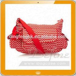 Red stylish cross body bag women
