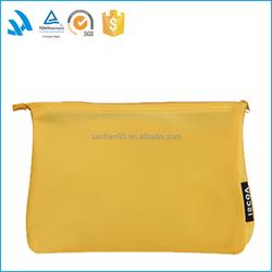 2015 Popular Makeup Bag Wholesale yellow Cosmetic Bag