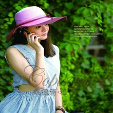 2015 Summer wide brim lady girl nice cheap sex hat