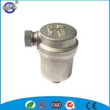 nickel plated quick brass automatic air release valve