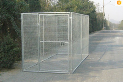 factory supplier heavy duty steel dog kennels designs