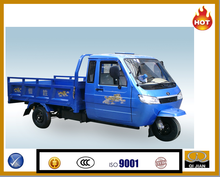 2015 HOT SALE dump truck cabin tricycle cargo closed adult tricycle