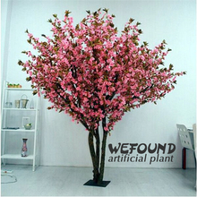 WEFOUND WF09121High Imitation pink Artificial Cherry Blossom Tree for Wedding indoor Decoration